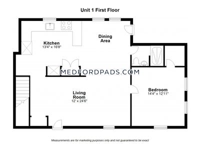 Medford Apartment for rent 4 Bedrooms 4 Baths  Tufts - $4,000